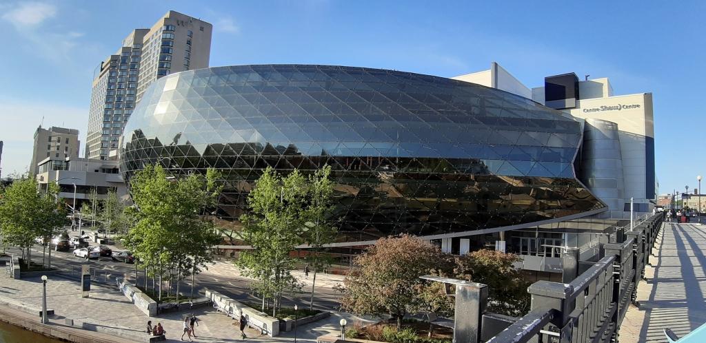 ICOLD vuosikokous ja symposium järjestettiin Shaw Center -nimisessä konferenssikeskuksessa Ottavassa Kanadassa.