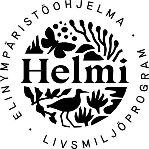 Helmi-elinympäristöohjelman logo.