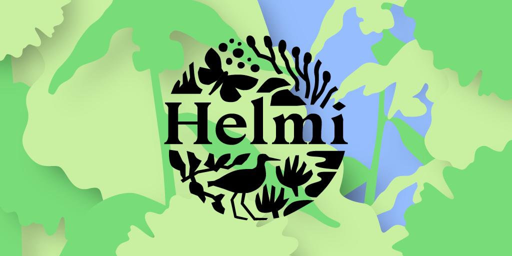 Helmi-elinympäristön logo.